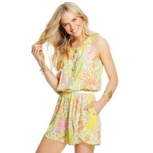 Lilly Pulitzer for target yellow romper size small